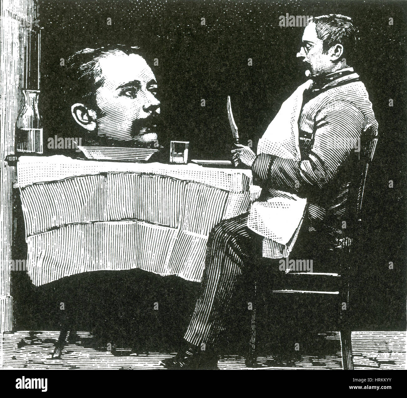 Trick Photography, 1889 - Stock Image