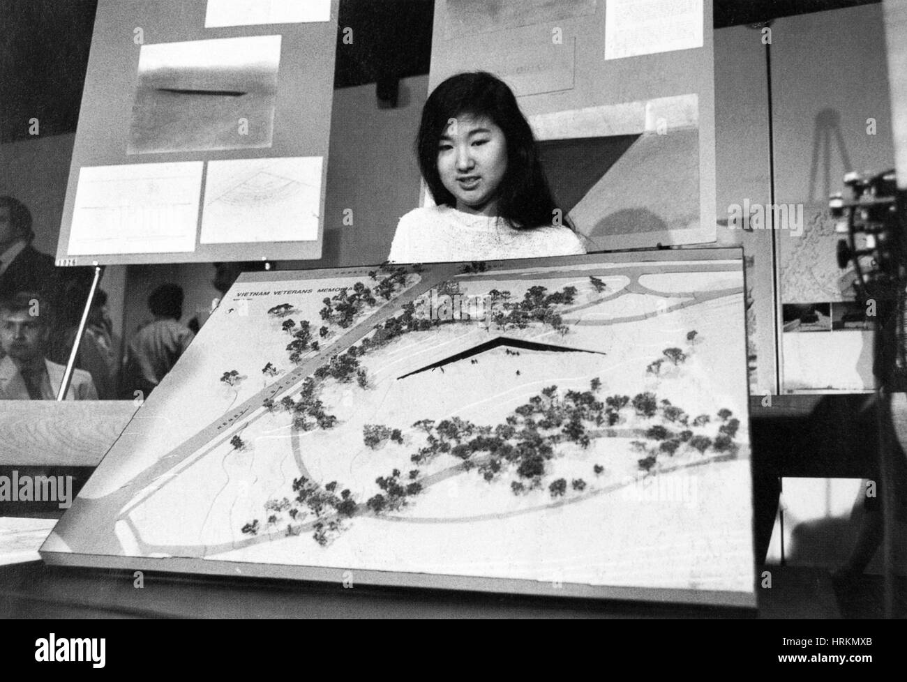 Maya Lin, American Architect - Stock Image