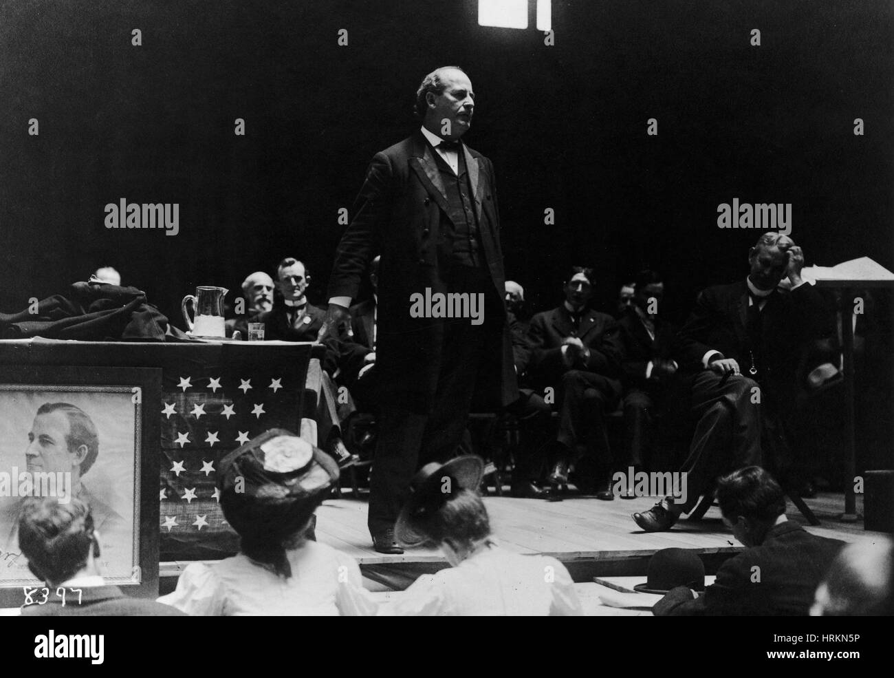 William Jennings Bryan, American Politician - Stock Image