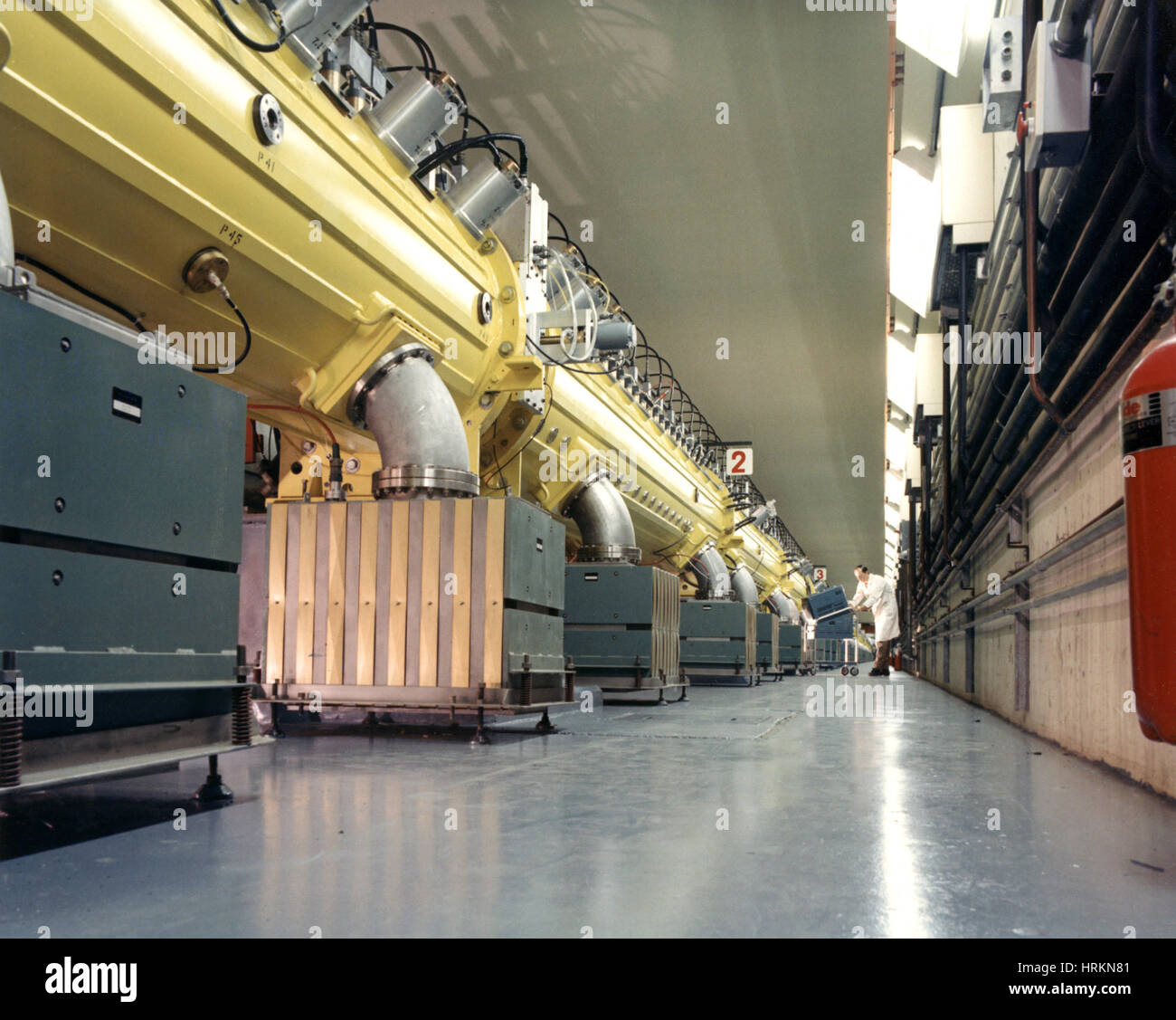 Linear Accelerator (LINAC) - Stock Image
