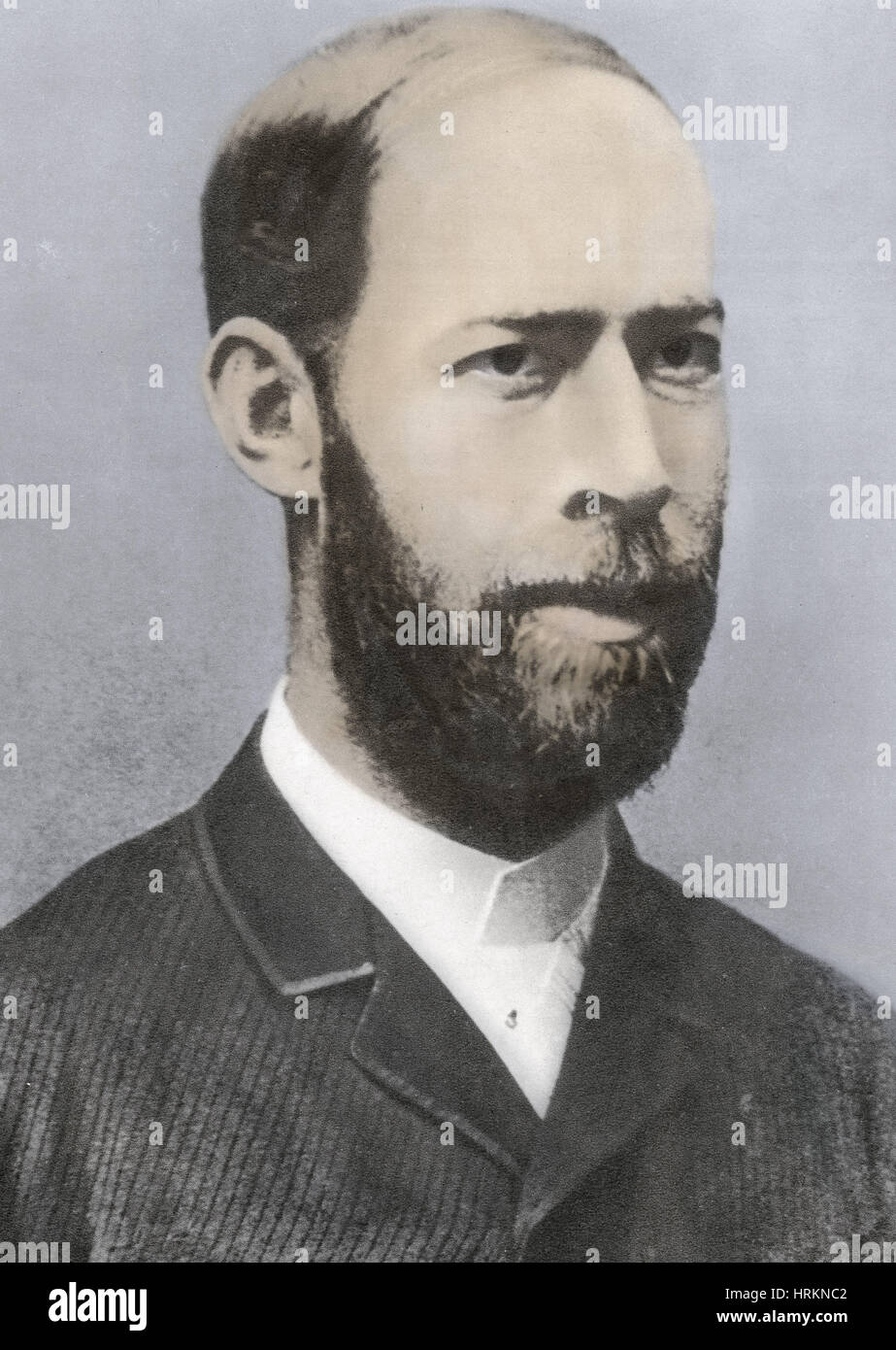 Heinrich Rudolf Hertz, German Physicist - Stock Image