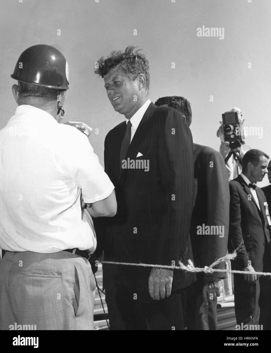 JFK at Cape Canaveral - Stock Image