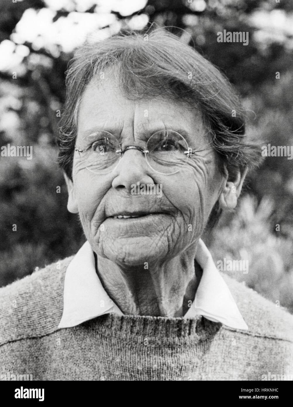 Barbara McClintock, American Cytogeneticist - Stock Image