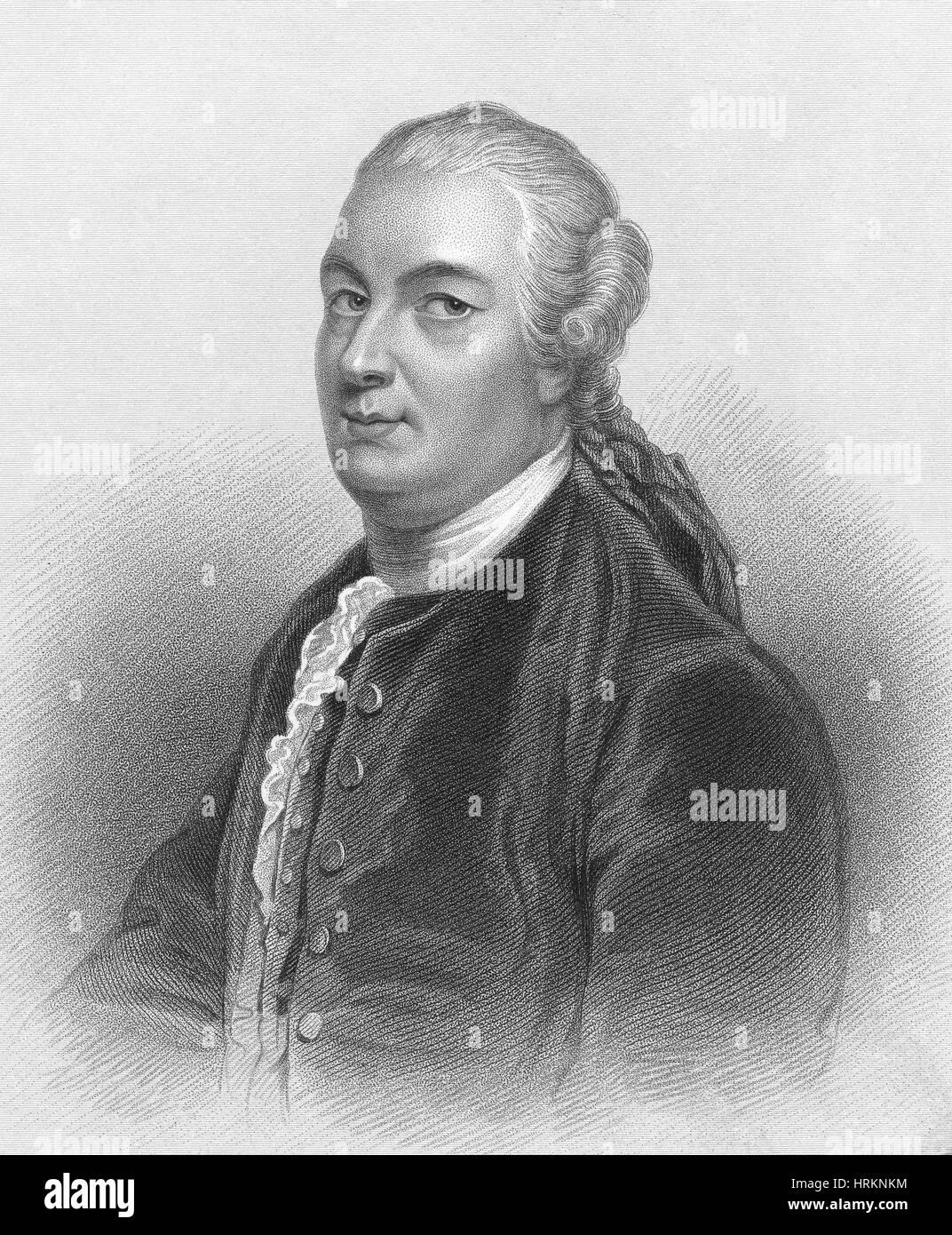 James Bruce, Scottish Explorer - Stock Image