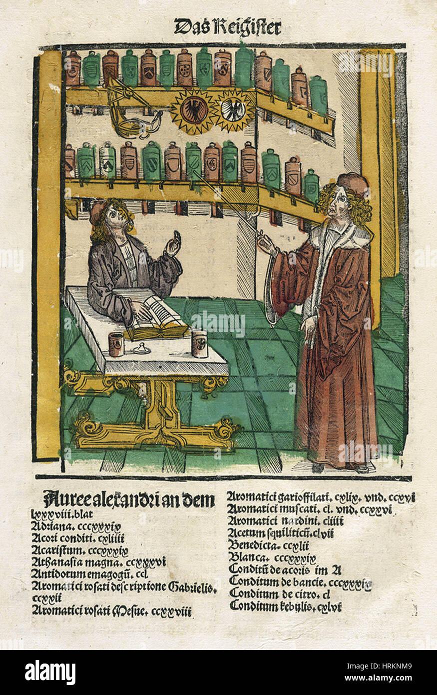 Alchemy - Stock Image