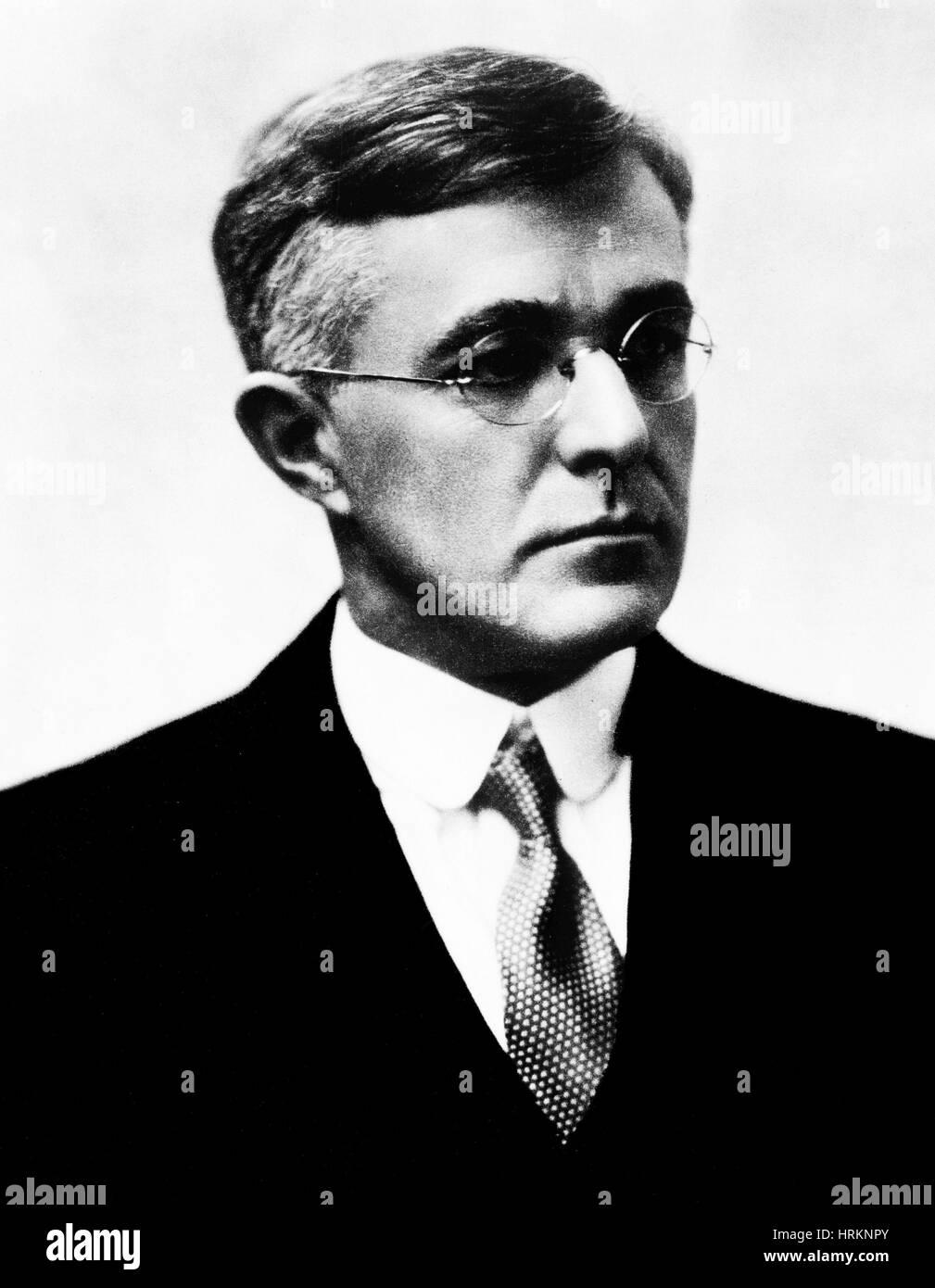 Irving Langmuir, American Chemist - Stock Image