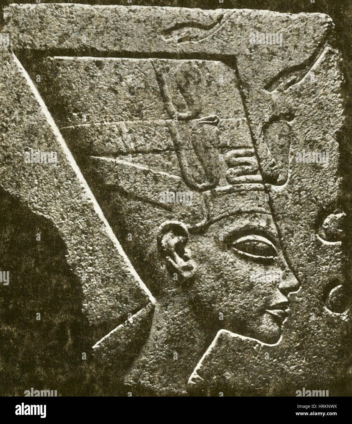 Nefertiti, Ancient Egyptian Queen - Stock Image