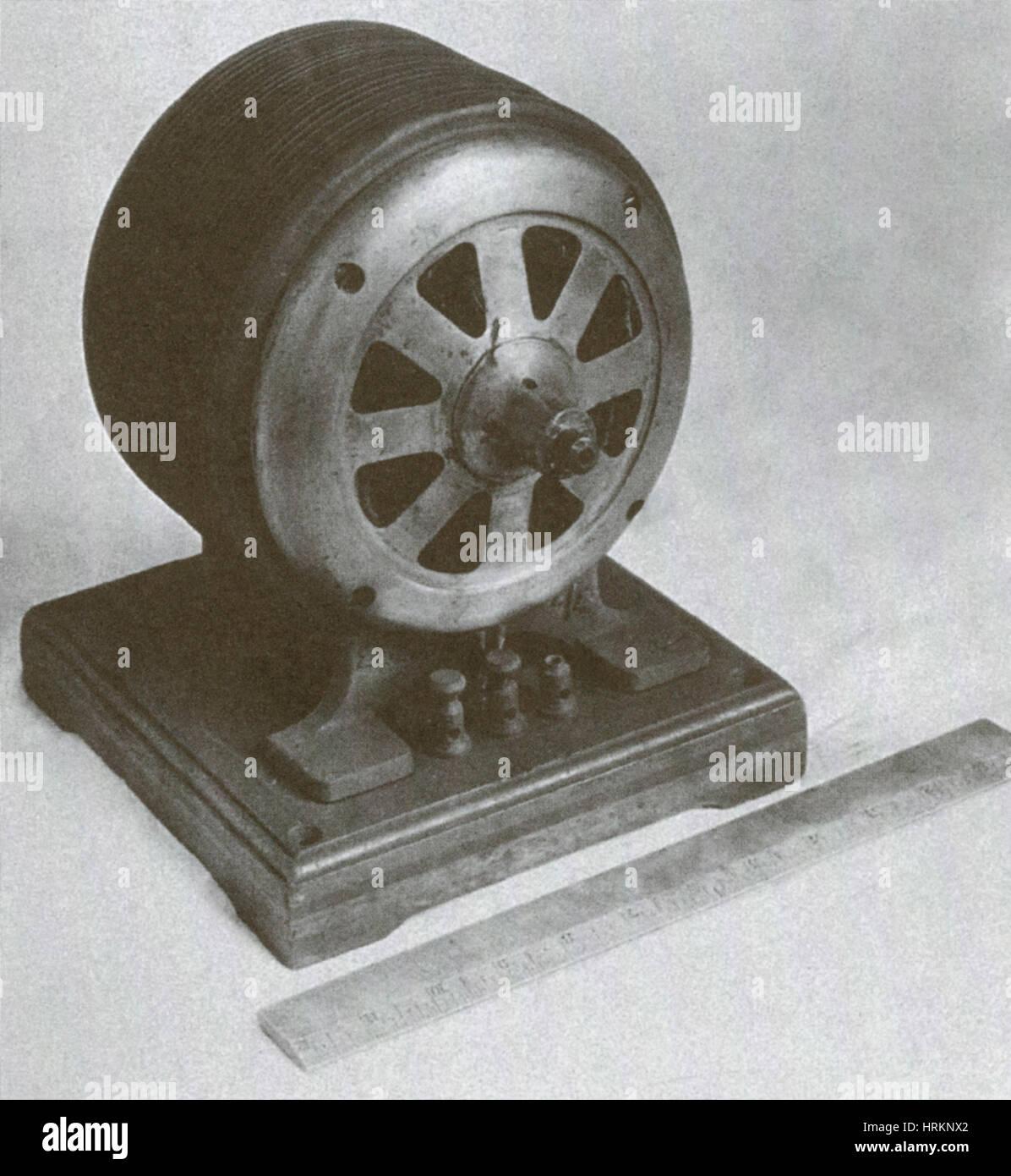 Tesla Induction Motor - Stock Image