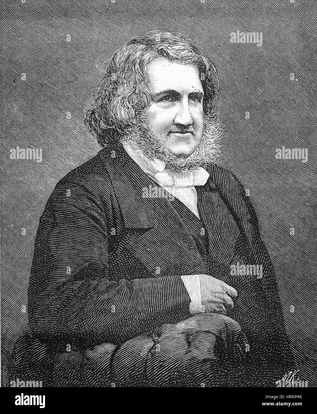 James Young Simpson, Scottish Physician - Stock Image