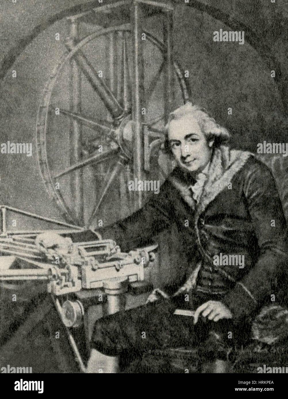 Jesse Ramsden, English Instrument Maker Stock Photo