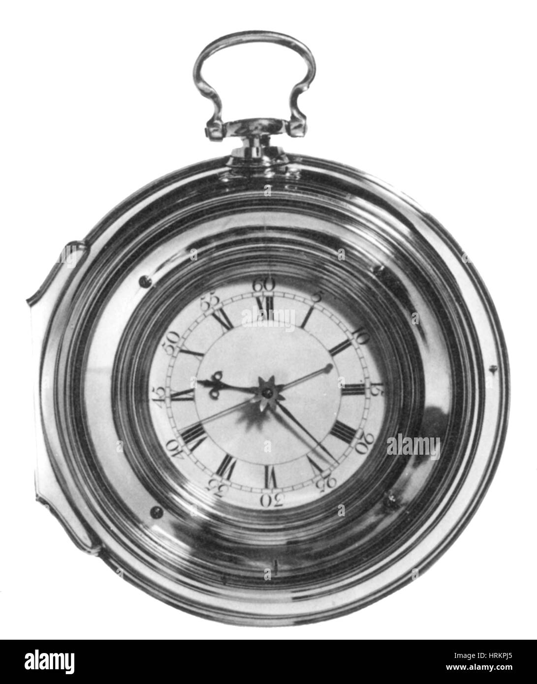 Harrison's Last Marine Timepiece, H.5 - Stock Image