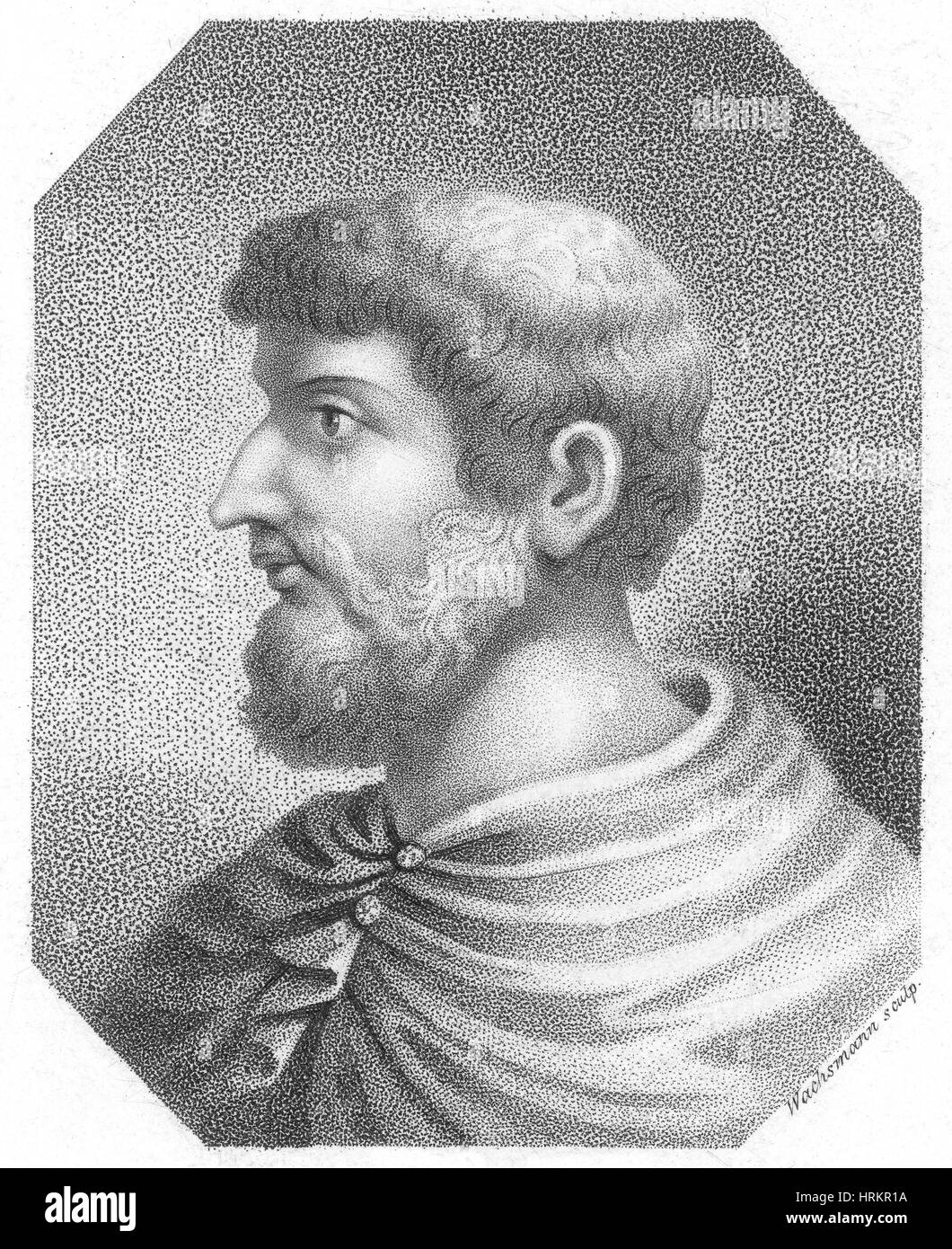 Callimachus, Greek-Libyan Poet and Scholar - Stock Image