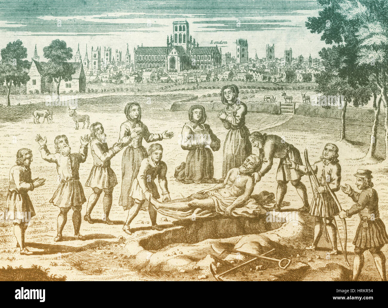 Great Plague of London, 1665