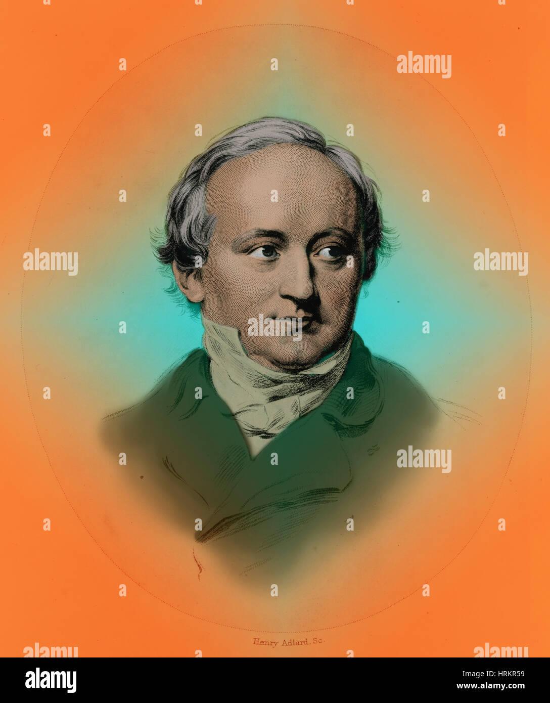 Baron von Bunsen, German Diplomat Stock Photo