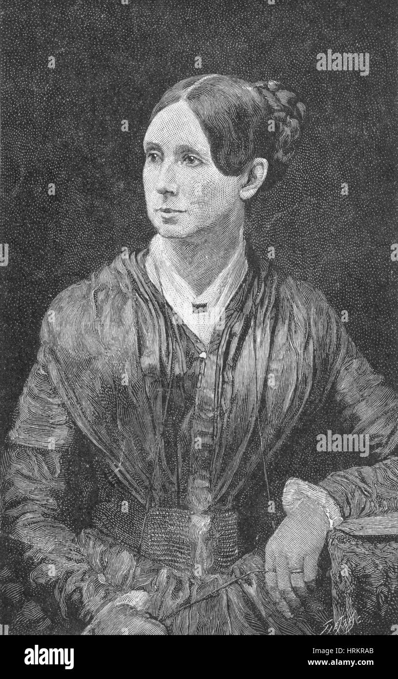 Dorothea Dix, American Reformer Stock Photo
