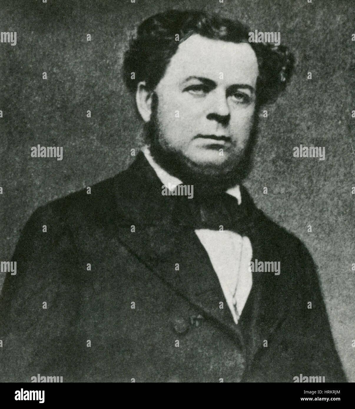 Stephen Mallory, American Politician - Stock Image