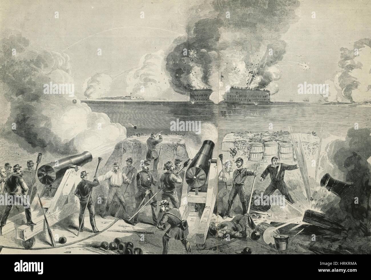 Battle of Fort Sumter, 1861