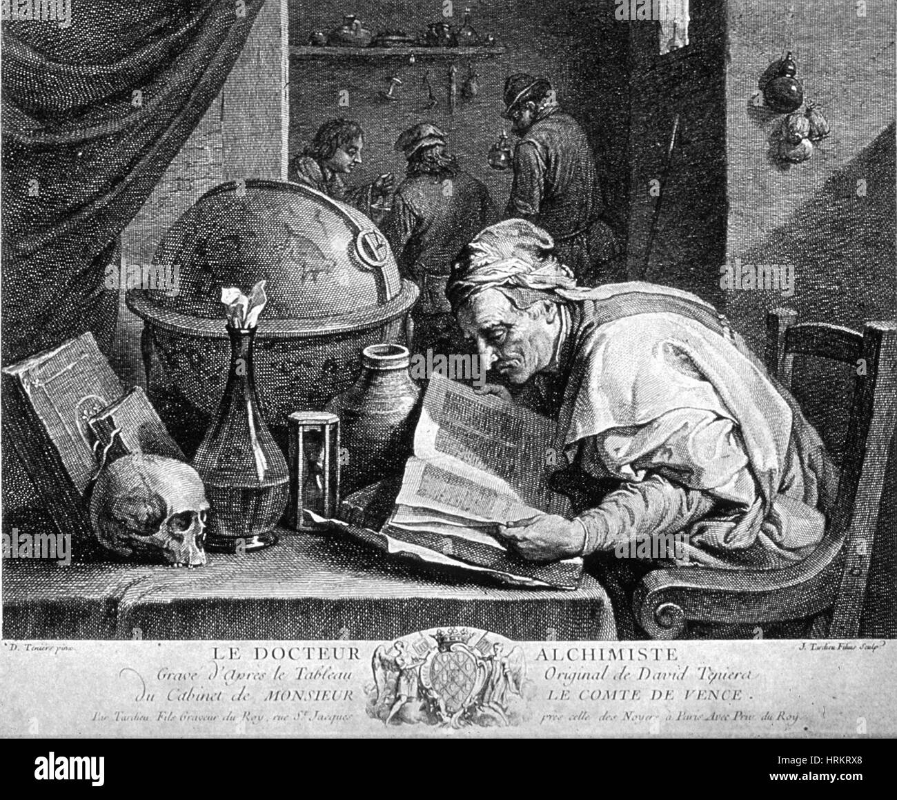 Alchemist, 17th Century - Stock Image