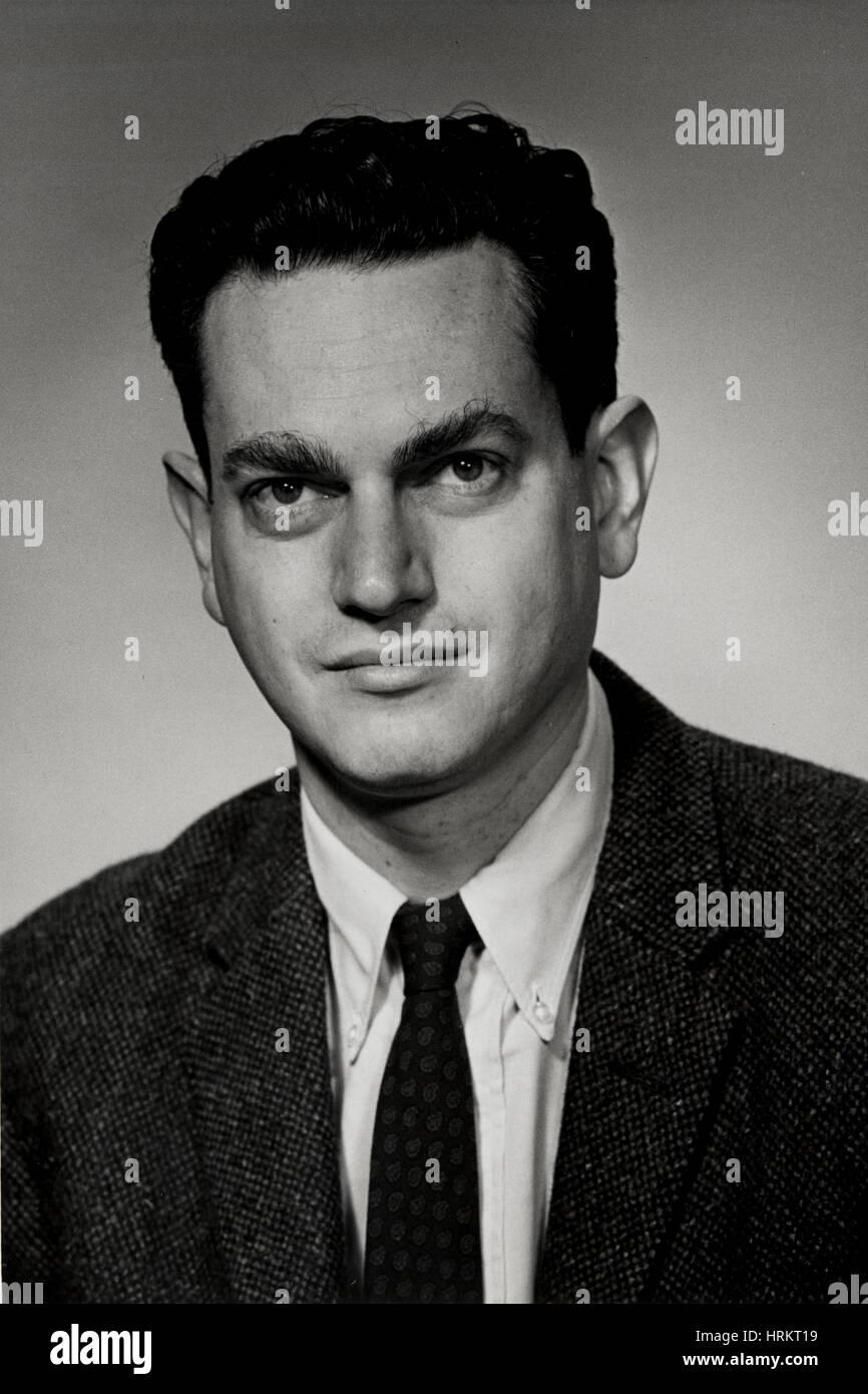 Marshall Warren Nirenberg, American Geneticist - Stock Image