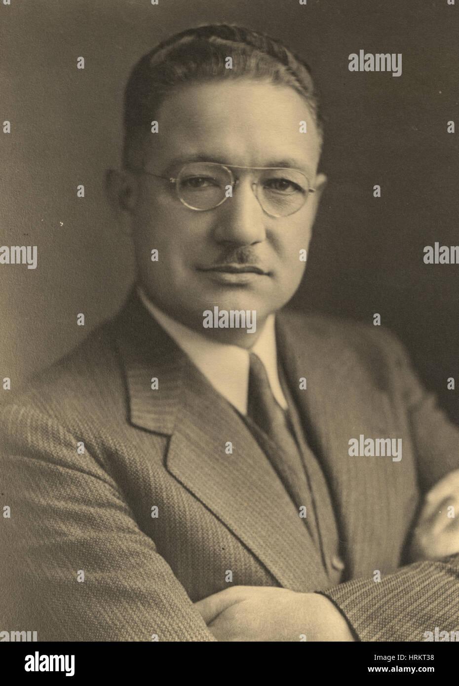 Fred Soper, American Epidemiologist - Stock Image
