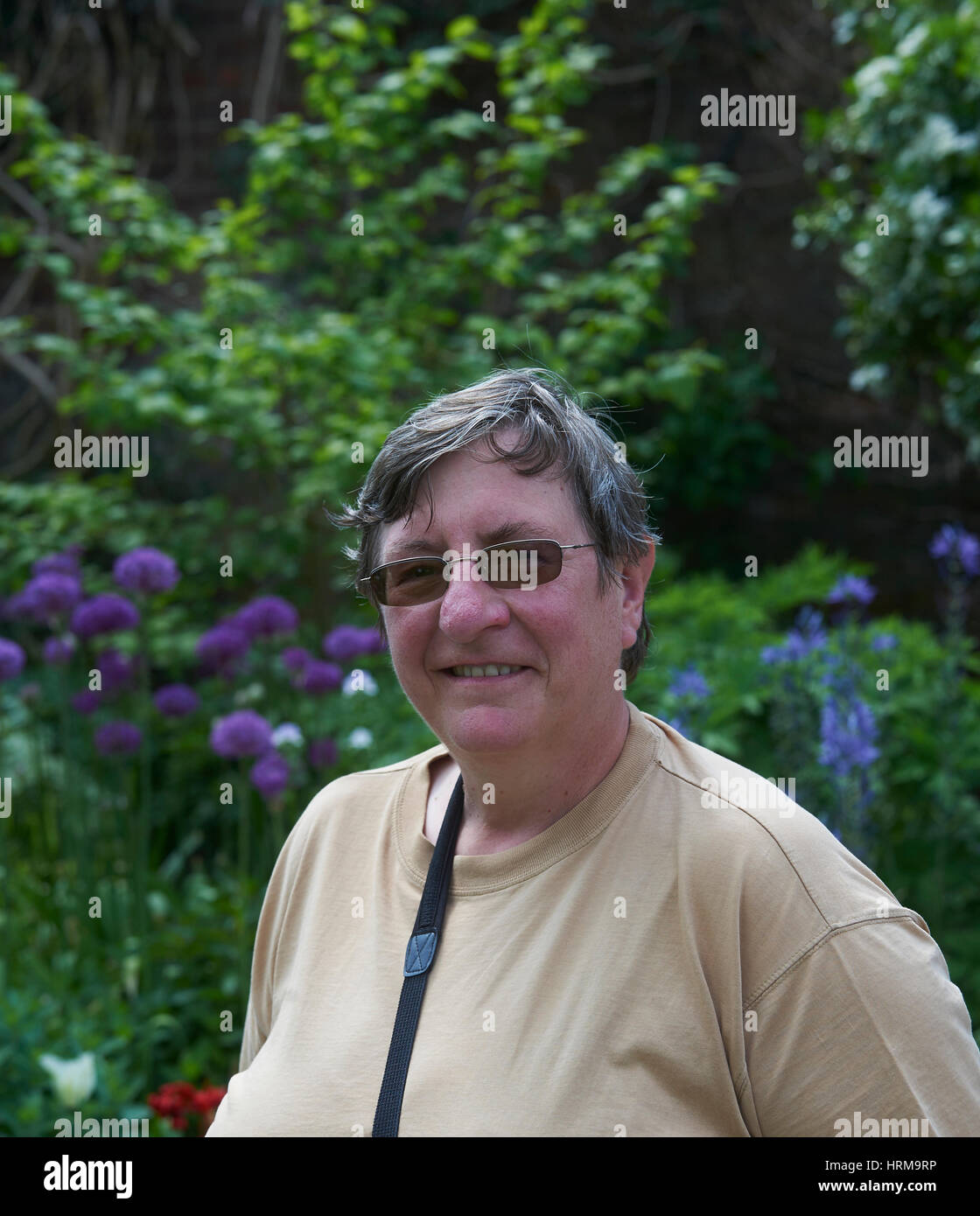 Christine Walkden Horticultural lecturer, writer and gardener, who has her own BBC2 television series 'Christine's - Stock Image