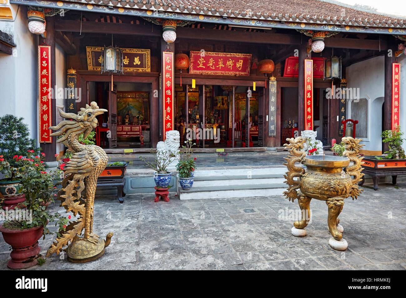 Minh Huong Communal House. Hoi An Ancient Town, Quang Nam Province, Vietnam. - Stock Image