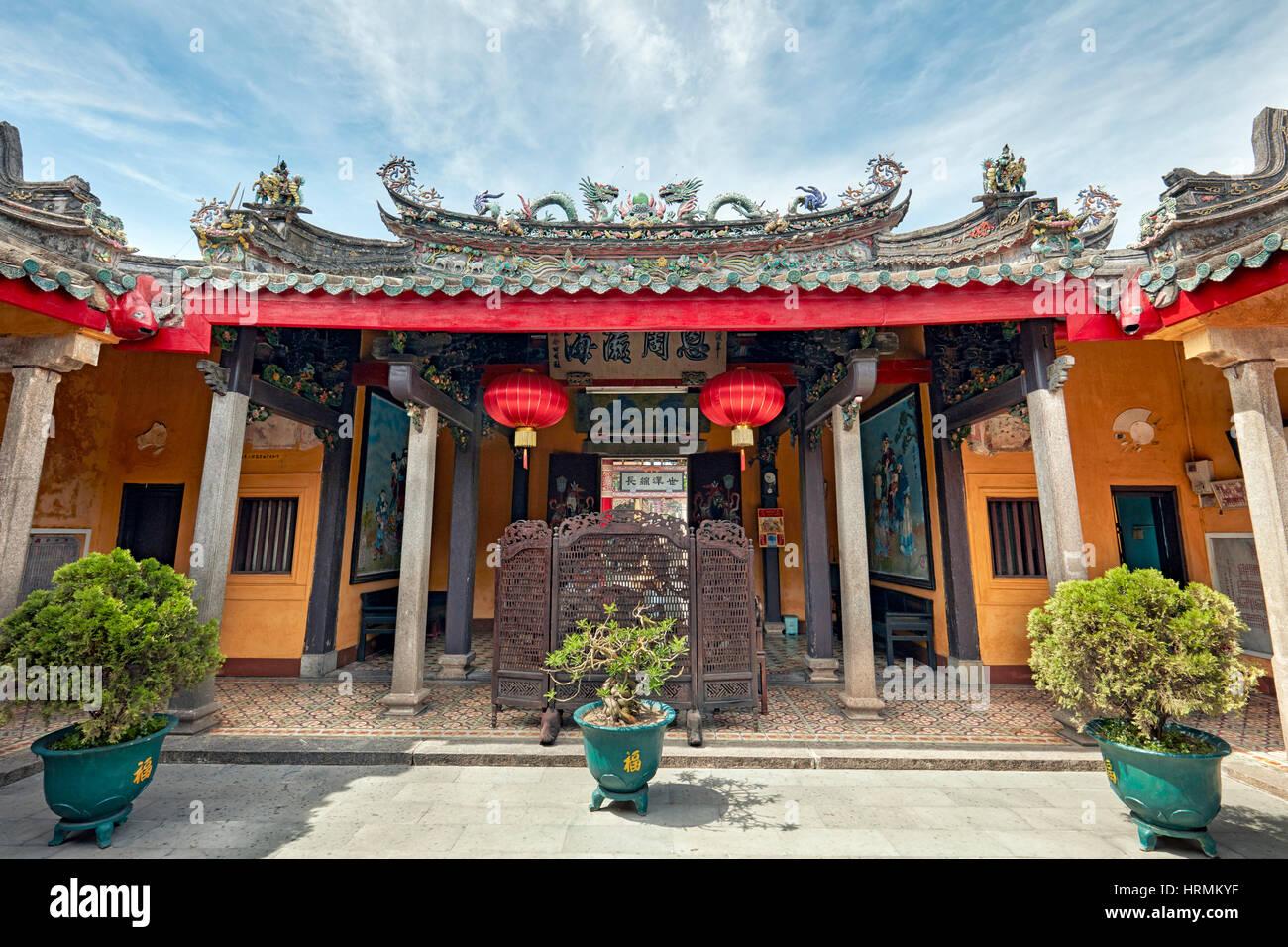 Trieu Chau (Chaozhou) Assembly Hall. Hoi An Ancient Town, Quang Nam Province, Vietnam. - Stock Image