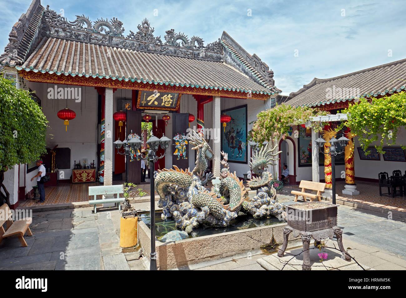 Cantonese (Quang Trieu) Assembly Hall. Hoi An Ancient Town, Quang Nam Province, Vietnam. - Stock Image