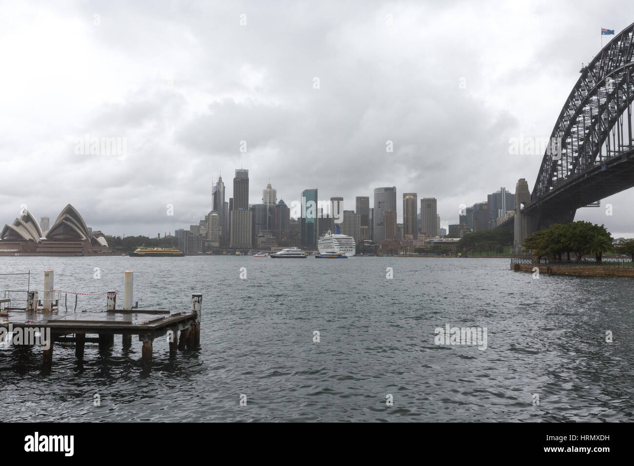 Sydney, Australia. 3rd March 2017. A week of heavy rain and thunderstorms continues over Sydney and parts of New Stock Photo