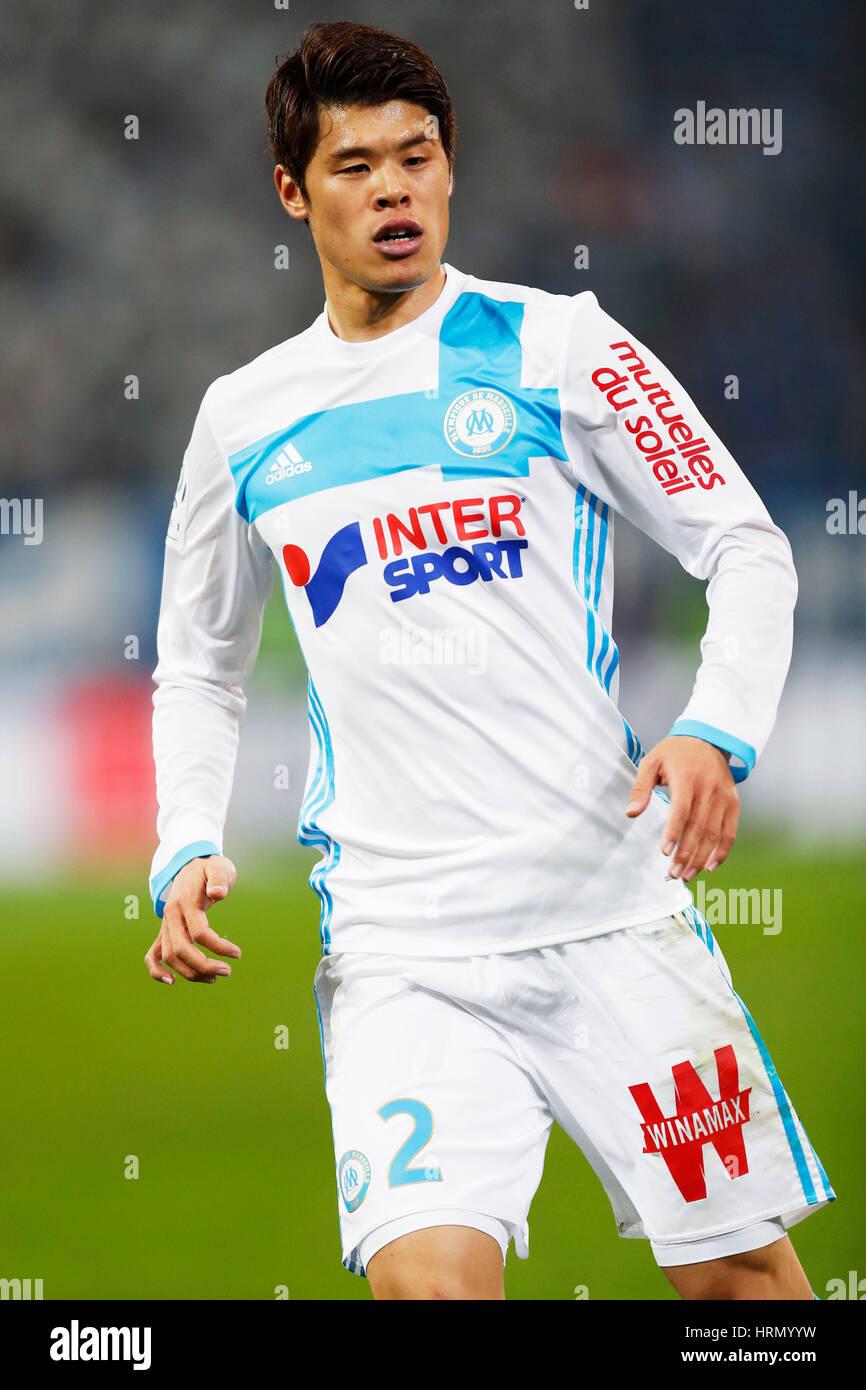 a946a87521 Hiroki Sakai (Marseille), FEBRUARY 26, 2017 - Football / Soccer ...