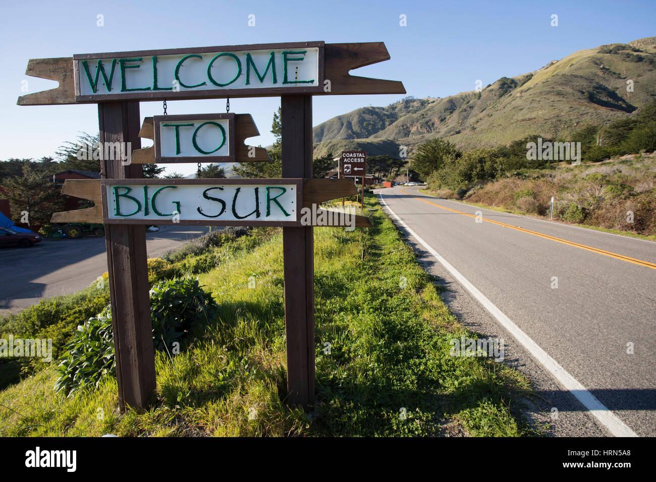 Big Sur, California, USA  2nd Mar, 2017  California Highway 1 is