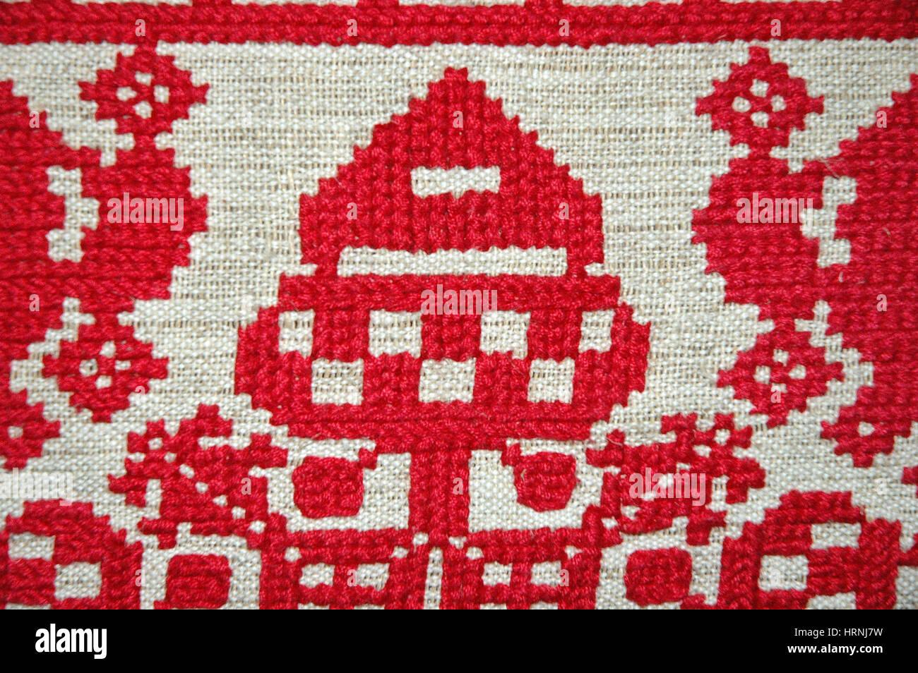 Embroidery Fancy Work Stock Photo 135084989 Alamy