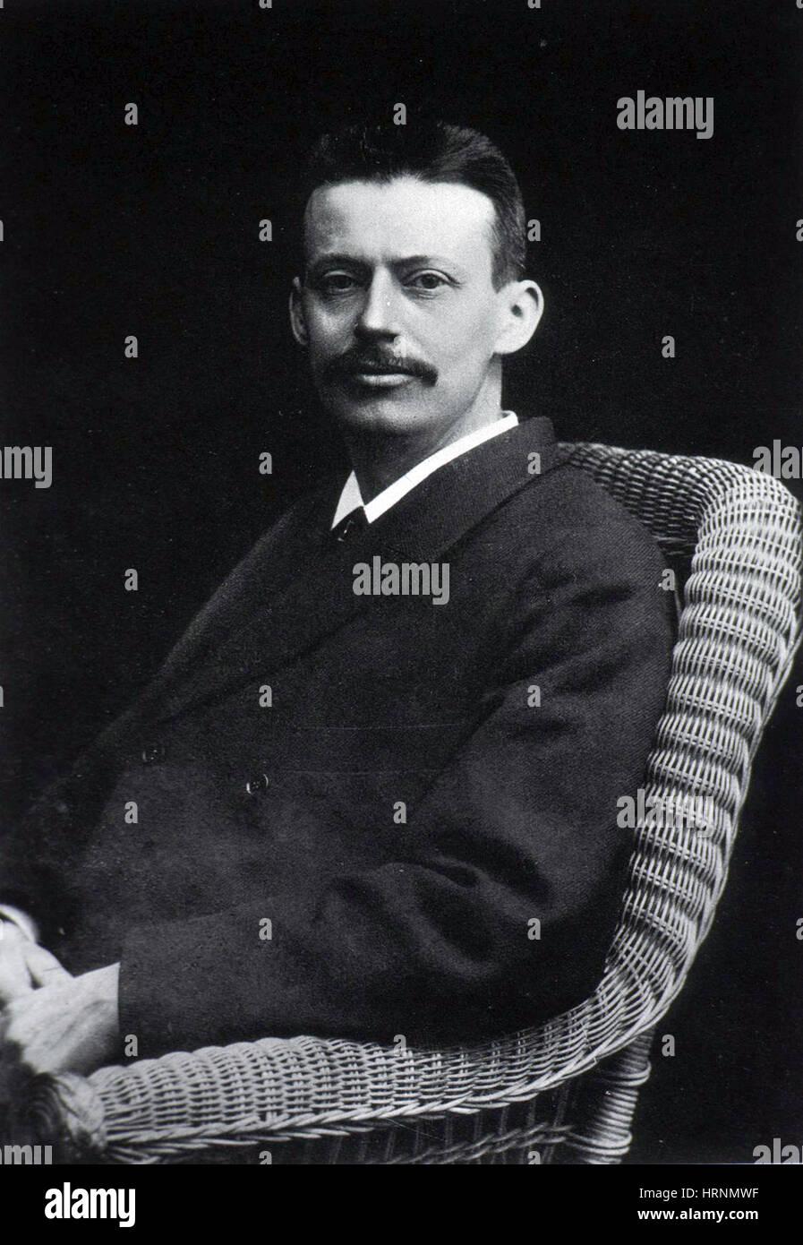 Niels Ryberg Finsen, Nobel Prize 1903 Stock Photo