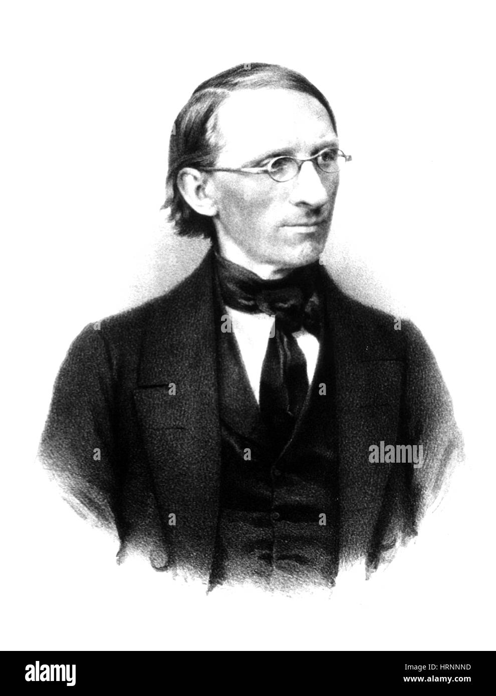 Carl Ludwig, German Physiologist - Stock Image