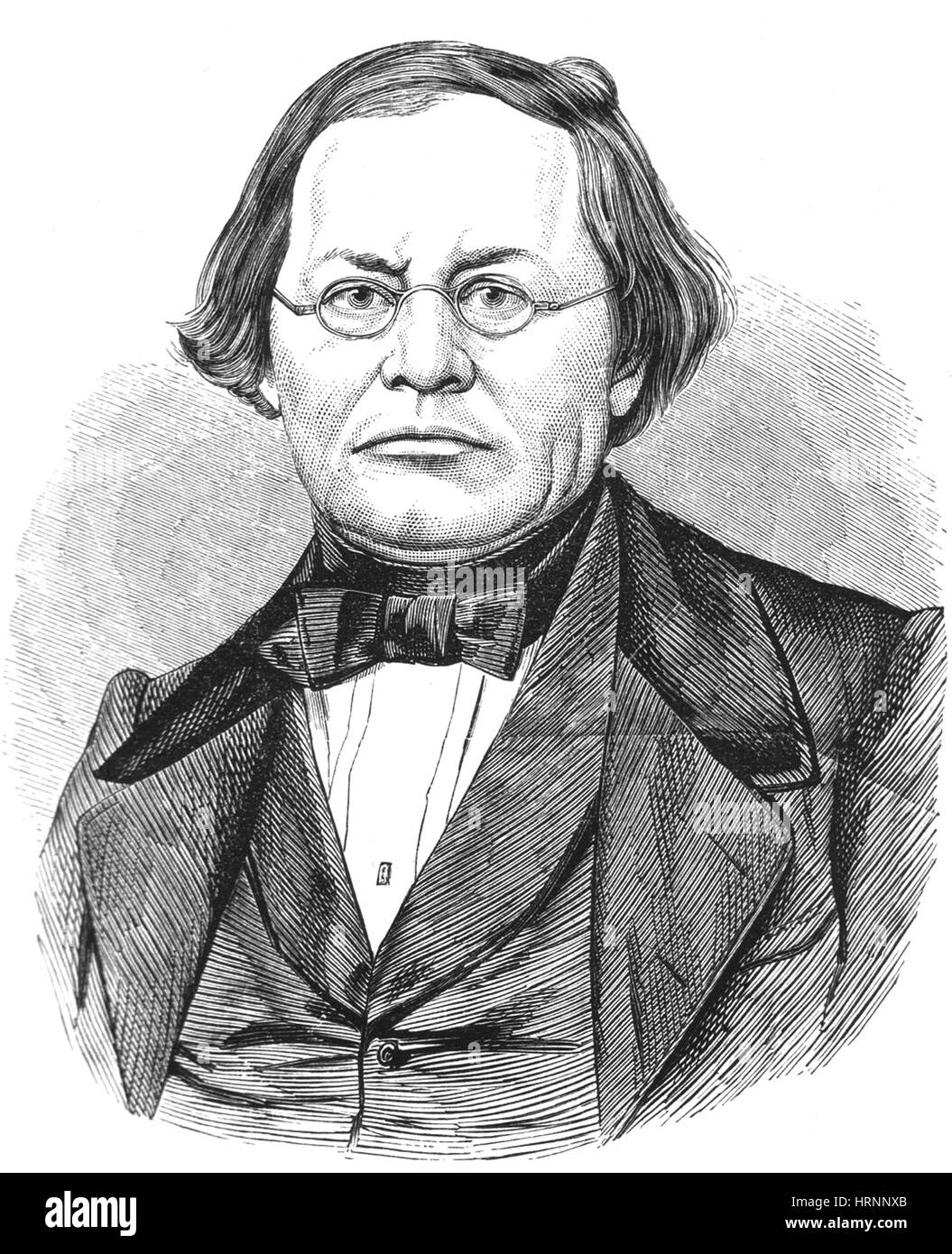 Joseph Skoda, Czech Physician - Stock Image