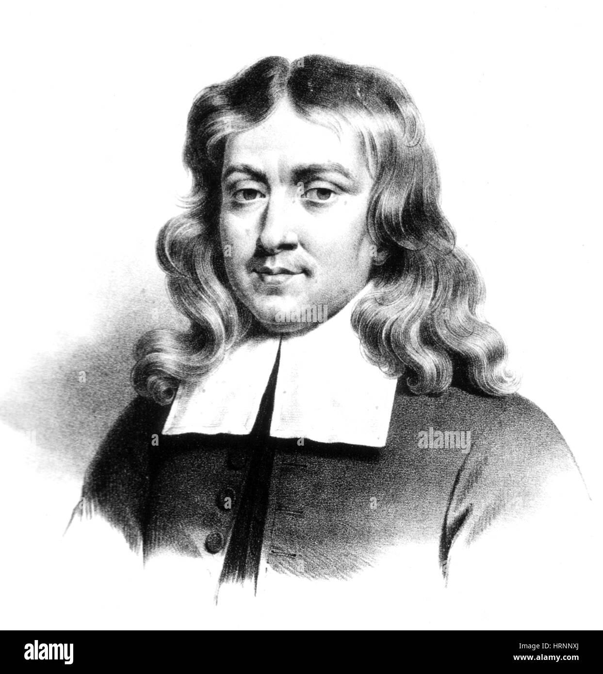 Thomas Sydenham, English Physician - Stock Image