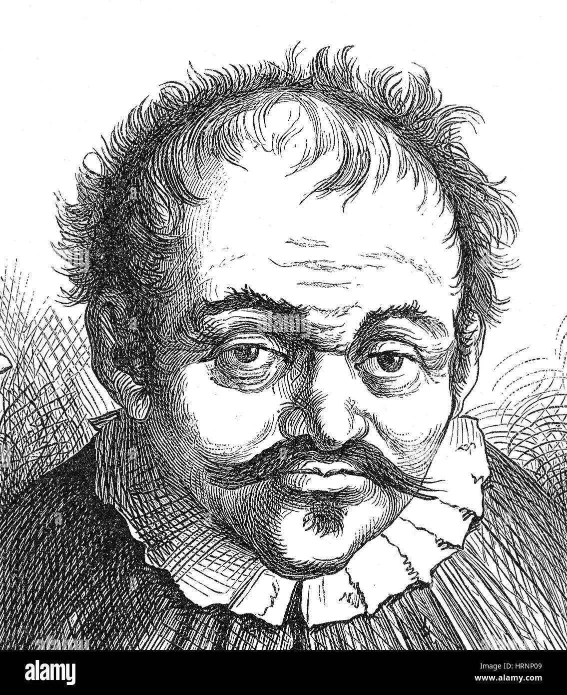 Johann Georg Faust, German Alchemist - Stock Image