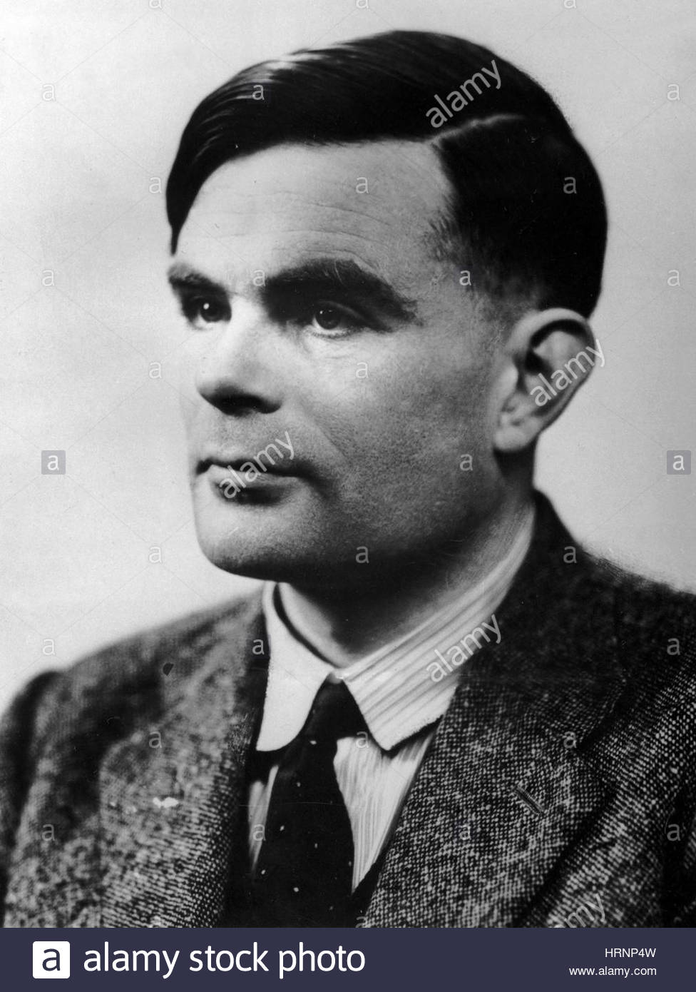 Alan Turing, English Mathematician Stock Photo