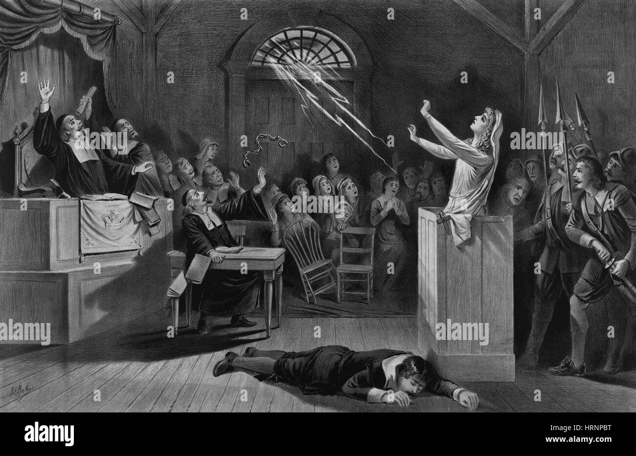 Salem Witch Trials, 1692-1693
