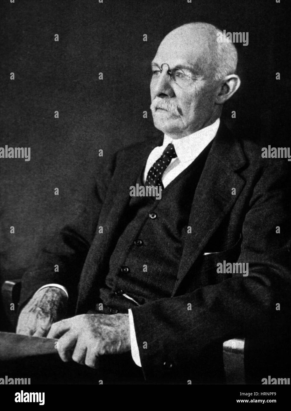 William Stewart Halsted, American Surgeon - Stock Image