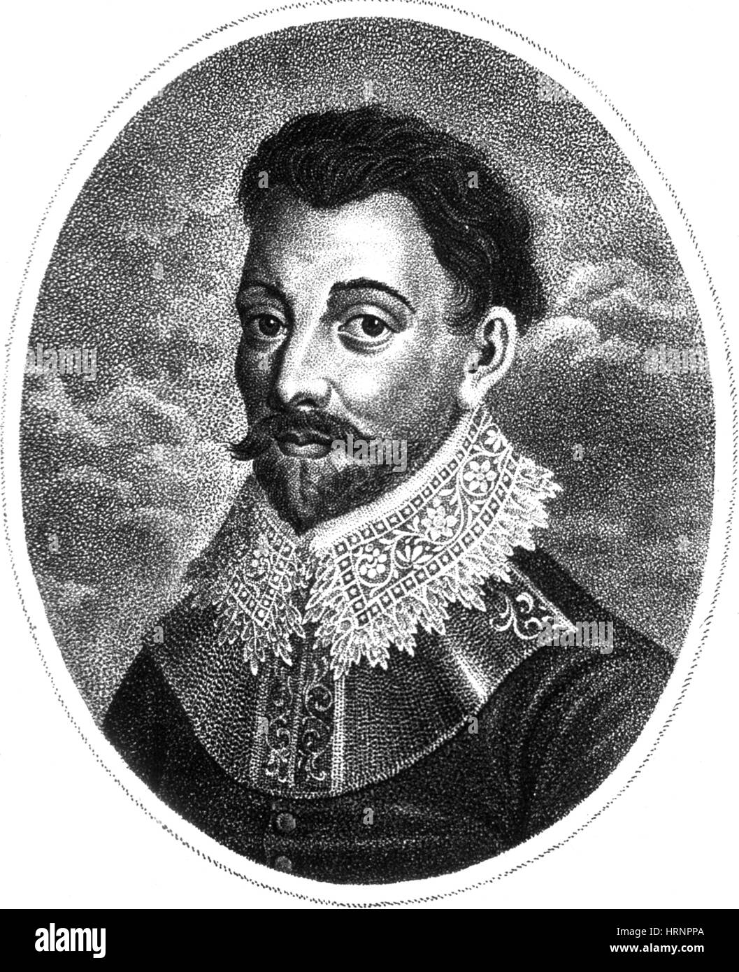 Francis Drake, English Explorer - Stock Image