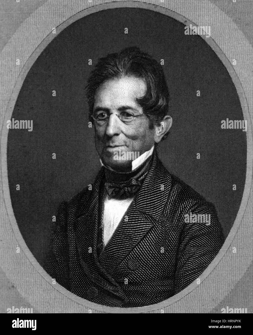 Thomas Hopkins Gallaudet, American Educator Stock Photo