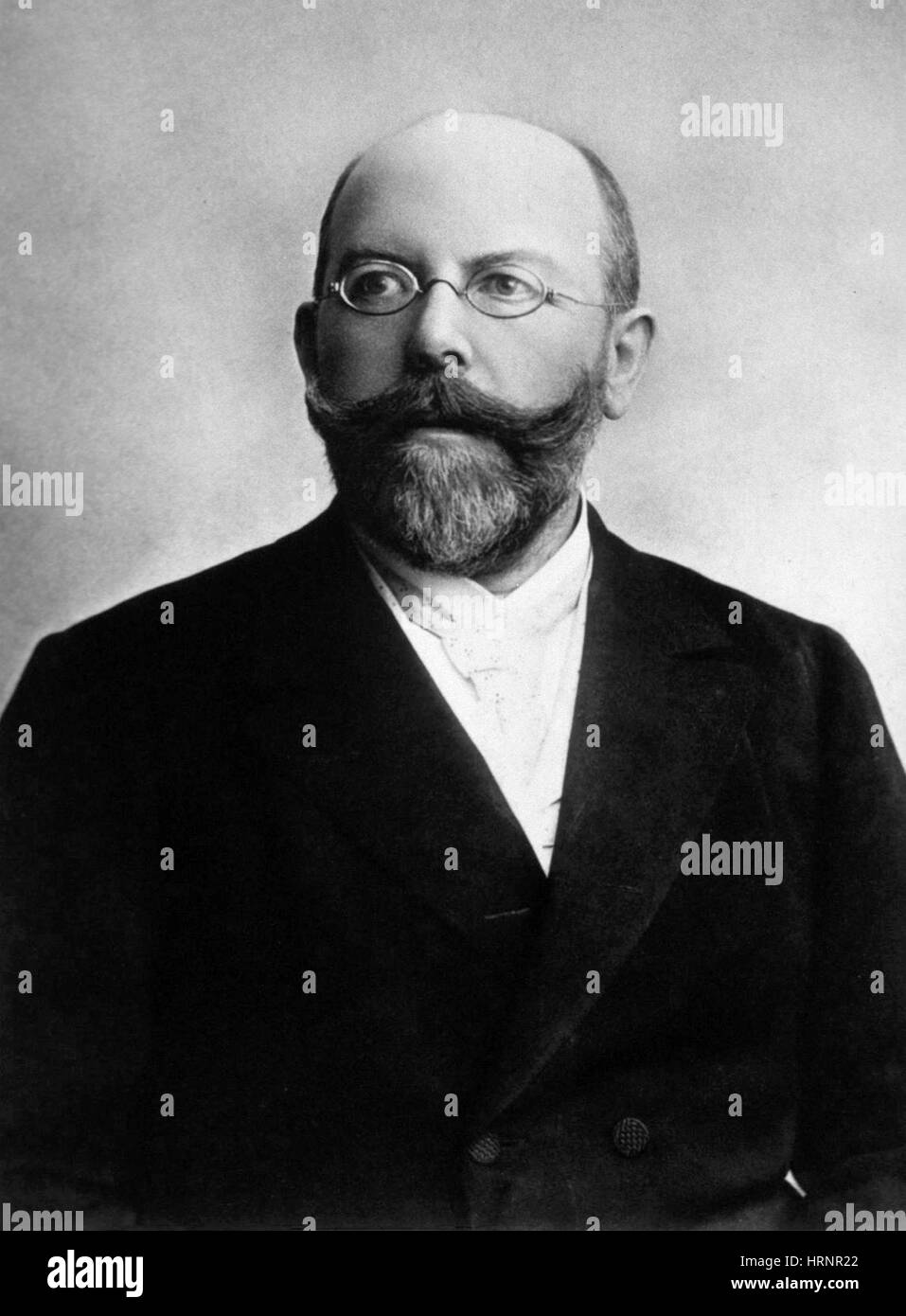 Friedrich Loeffler, German Bacteriologist - Stock Image
