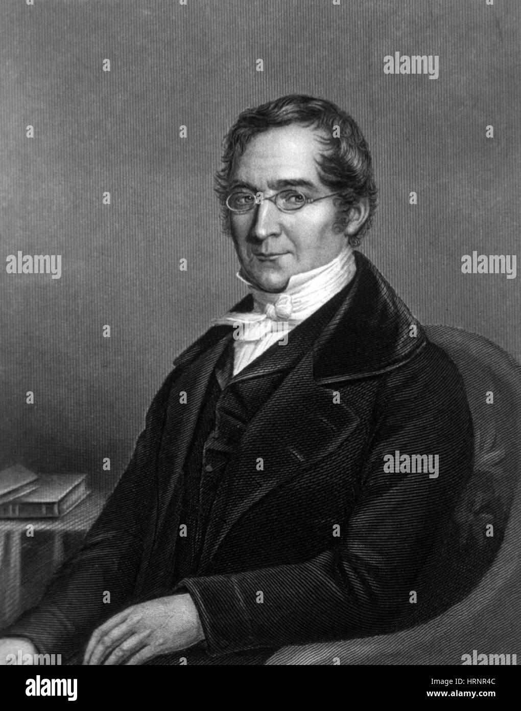 Joseph Gay-Lussac, French Chemist and Physicist - Stock Image