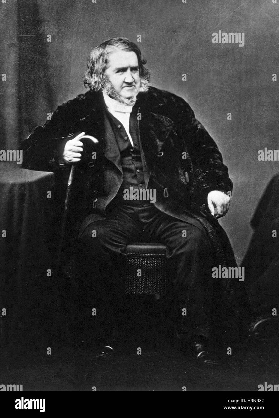 James Young Simpson, Scottish Physician and Anesthetic Pioneer - Stock Image