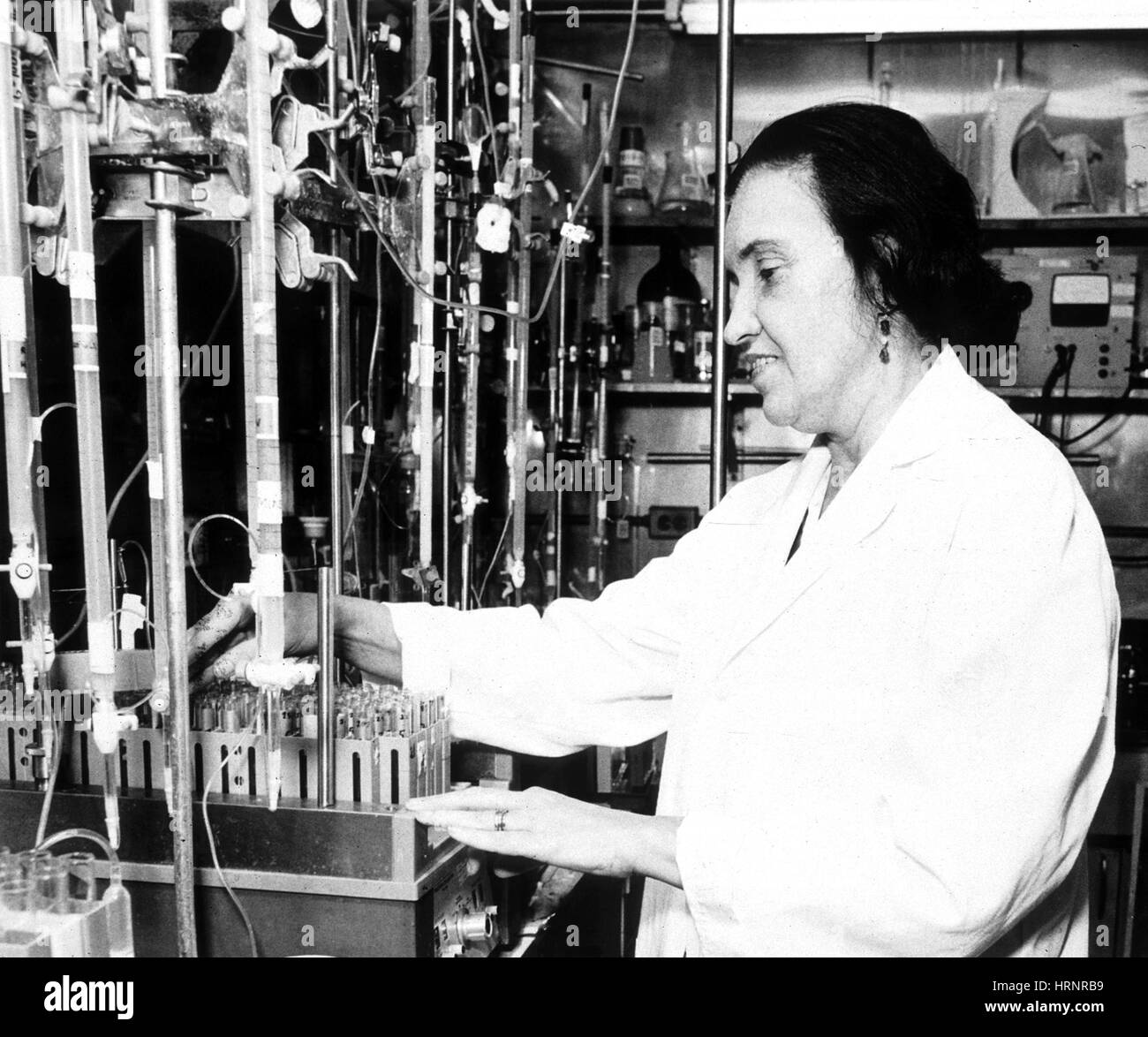 Rosalyn Yalow, American Medical Physicist Stock Photo