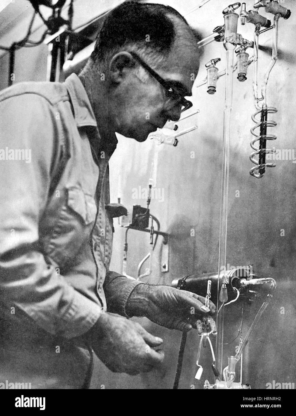 Raymond Davis Jr., American Physicist and Chemist - Stock Image