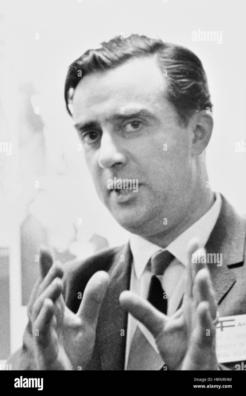 Albert Crewe, Director of Argonne National Laboratory - Stock Image