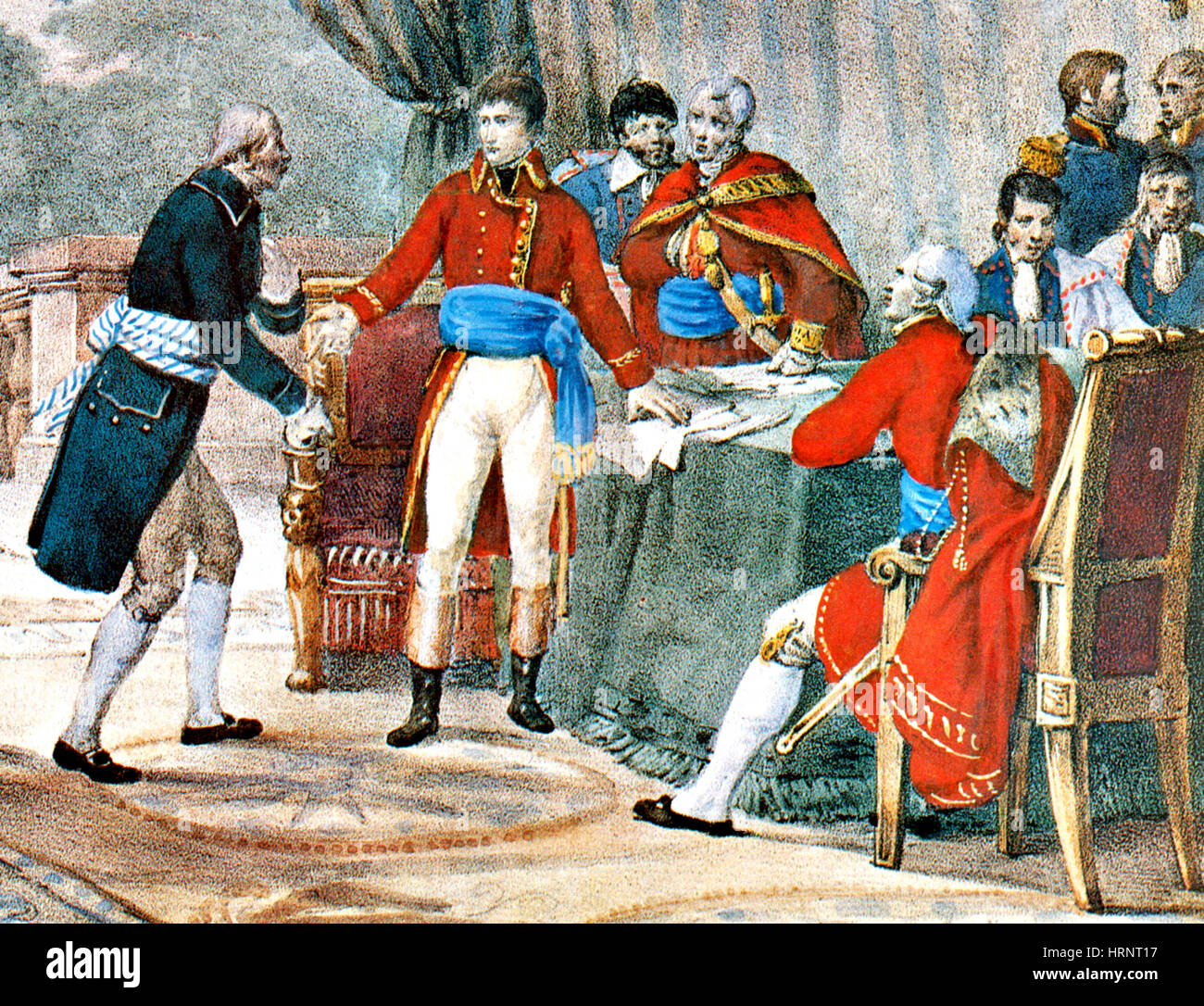 Louisiana Purchase, 1803 - Stock Image