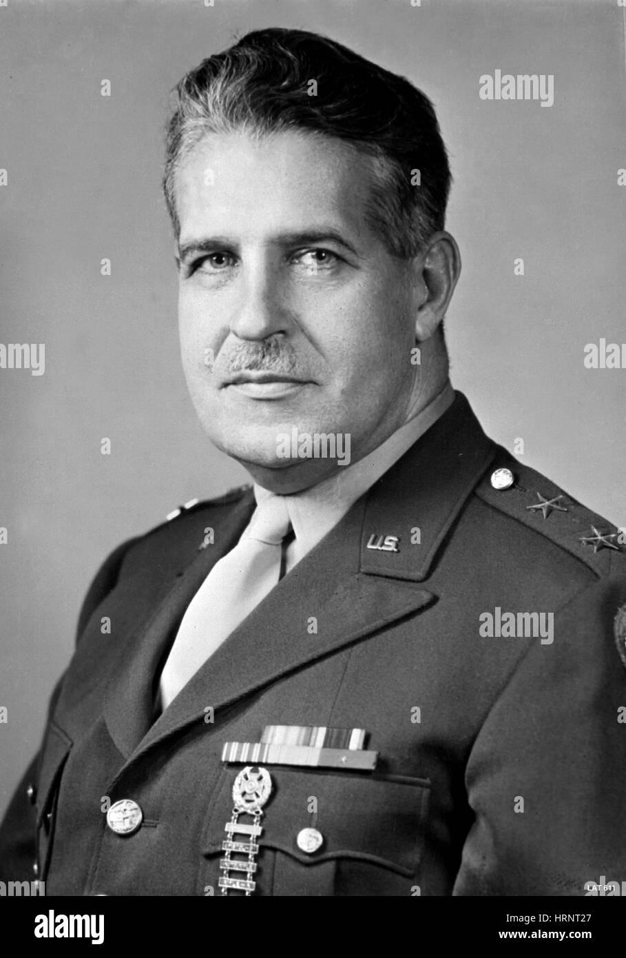 Leslie Groves, U.S. Army Officer - Stock Image
